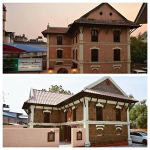 Bricks building
