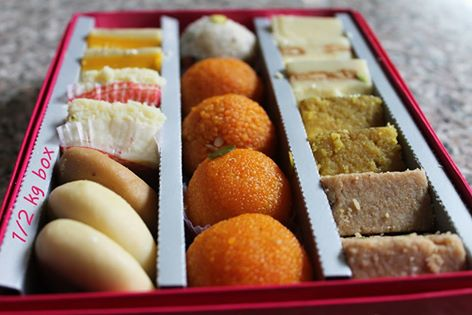 sweets, sweets box